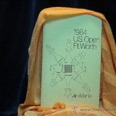 Coleccionismo deportivo: AJEDREZ. CHESS.1984 U.S. OPEN FT. WORTH - JIM MARFIA DESCATALOGADO!!!. Lote 32853562