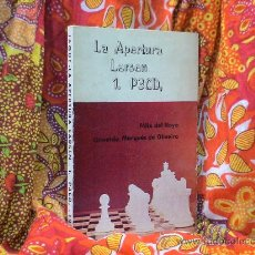 Coleccionismo deportivo: AJEDREZ. CHESS. LA APERTURA LARSEN 1.P3CD - FÉLIX DEL HOYO/MARQUÉS DE OLIVEIRA DESCATALOGADO!!!. Lote 115787307