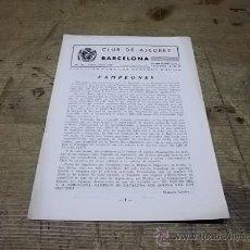 Coleccionismo deportivo: 1660.- CLUB AJEDREZ BARCELONA Nº 93 DE JUNIO JULIO DE 1959. Lote 34629360