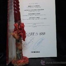 Coleccionismo deportivo: AJEDREZ. CHESS. SUPERTONEO INTERN LINARES 1988 - ILLESCAS/OCHOA DE ECHAGUEN/URÍAS/GUDE. FIRMADO AUTO. Lote 34729306