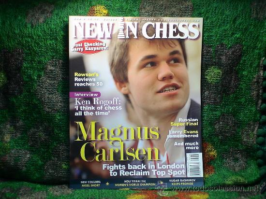 Coleccionismo deportivo: Ajedrez. Revista. Magazine New in Chess 2011. Año completo. OFERTA!!! - Foto 3 - 31898850