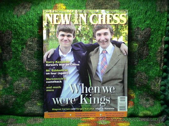 Coleccionismo deportivo: Ajedrez. Revista. Magazine New in Chess 2011. Año completo. OFERTA!!! - Foto 7 - 31898850