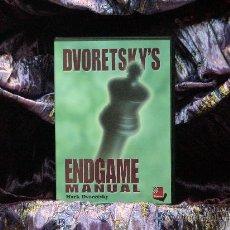 Coleccionismo deportivo: AJEDREZ. CHESS. DVORETSKY'S ENDGAME MANUAL - MARK DVORETSKY PC. CD ROM. Lote 34847973
