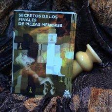 Coleccionismo deportivo: AJEDREZ. CHESS. SECRETOS DE LOS FINALES DE PIEZAS MENORES - JOHN NUNN. Lote 70580763