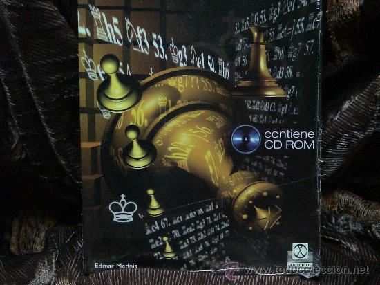 Coleccionismo deportivo: Ajedrez. Chess. Consejos prácticos para jugar el final + CD ROM - Edmar Mednis DESCATALOGADO!!! - Foto 3 - 34910722