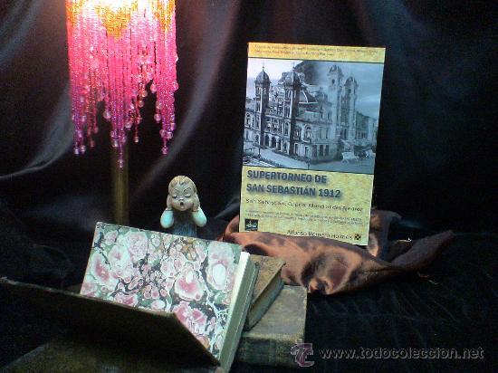 CHESS. SUPERTORNEO DE SAN SEBASTIÁN 1912. CAPITAL MUNDIAL DEL AJEDREZ - ALFONSO ROMERO HOLMES AGOTAD (Coleccionismo Deportivo - Libros de Ajedrez)