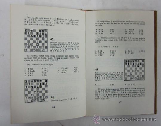 Coleccionismo deportivo: CUARTO LIBRO DE AJEDREZ - APERTURAS DE PEON REY Y PEON DAMA - Foto 4 - 35610430