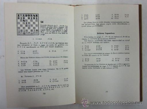 Coleccionismo deportivo: CUARTO LIBRO DE AJEDREZ - APERTURAS DE PEON REY Y PEON DAMA - Foto 5 - 35610430