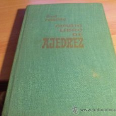 Coleccionismo deportivo: CUARTO LIBRO DE AJEDREZ (FRED REINFELD) PRIMERA EDICION 1962 (LE5). Lote 35739770
