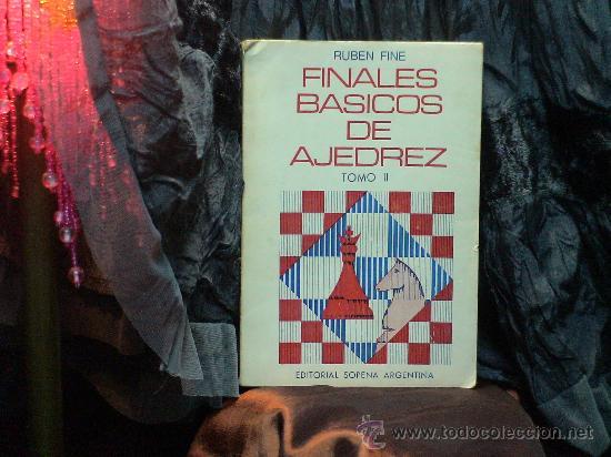 FINALES BÁSICOS DE AJEDREZ. TOMO II - RUBEN FINE DESCATALOGADO!!! (Coleccionismo Deportivo - Libros de Ajedrez)