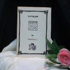 Coleccionismo deportivo: AJEDREZ. CATALAN - CHESS DIGEST DESCATALOGADO!!!. Lote 36349981