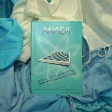 Coleccionismo deportivo: AJEDREZ. CHESS. ESPECIAL VIII CAMP DEL MUNDO DE MICROCOMPUTADORAS - ANACA DESCATALOGADO!!! OFERTA!!!. Lote 36823754
