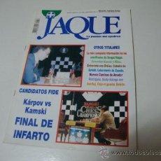 Coleccionismo deportivo: JAQUE Nº 396 - 1ª QUINCENA DE MARZO 1995.. Lote 37043443