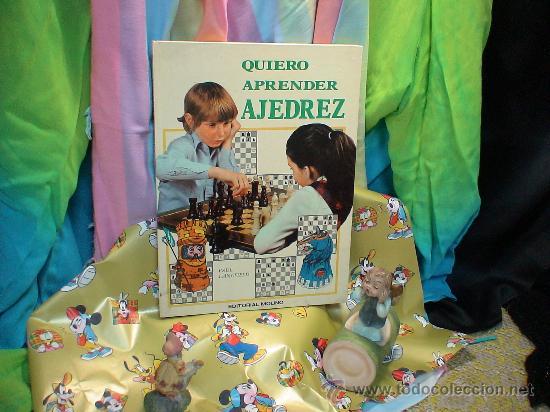 QUIERO APRENDER AJEDREZ - PAUL LANGFIELD DESCATALOGADO!!! (Coleccionismo Deportivo - Libros de Ajedrez)