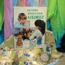 Sports collectibles - Quiero aprender ajedrez - Paul Langfield DESCATALOGADO!!! - 37248978