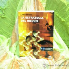Coleccionismo deportivo: AJEDREZ. CHESS. LEONID STEIN LA ESTRATEGIA DEL RIESGO + CD ROM - GUFELD/LAZAREV DESCATALOGADO!. Lote 37319643