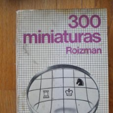 Coleccionismo deportivo: 300 MINIATURAS ,ROIZMAN , COLECCION ESCAQUES 56. Lote 38181320