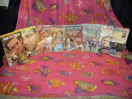AJEDREZ. REVISTA. MAGAZINE NEW IN CHESS 2006. AÑO COMPLETO. DESCATALOGADO!!! (Coleccionismo Deportivo - Libros de Ajedrez)