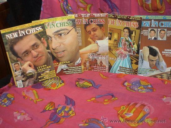 Coleccionismo deportivo: Ajedrez. Revista. Magazine New in Chess 2006. Año completo. DESCATALOGADO!!! - Foto 2 - 39226814