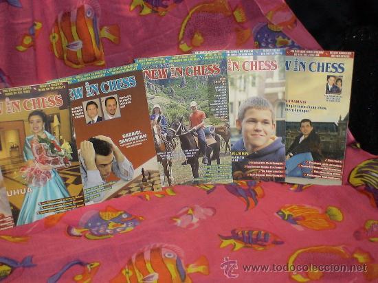Coleccionismo deportivo: Ajedrez. Revista. Magazine New in Chess 2006. Año completo. DESCATALOGADO!!! - Foto 3 - 39226814