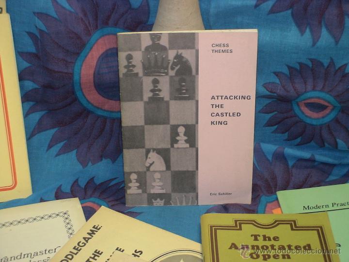 AJEDREZ. CHESS THEMES. ATTACKING THE CASTLED KING - ERIC SCHILLER DESCATALOGADO!!! (Coleccionismo Deportivo - Libros de Ajedrez)
