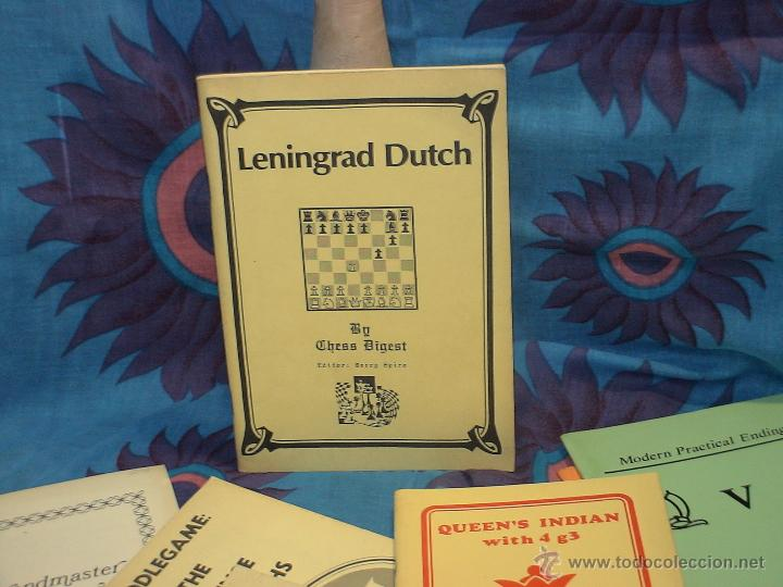 AJEDREZ. LENINGRAD DUTCH - CHESS DIGEST DESCATALOGADO!!! (Coleccionismo Deportivo - Libros de Ajedrez)