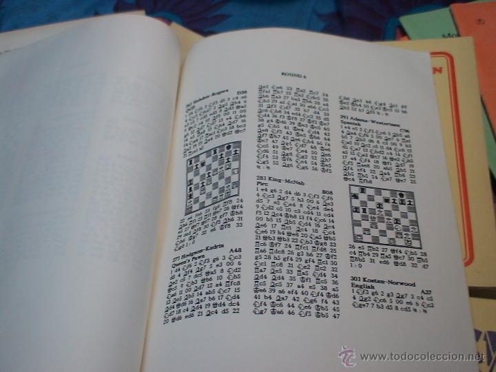 Coleccionismo deportivo: Ajedrez. Chess. Fifth Natwest Youngmaster. London 1988 DESCATALOGADO!!! - Foto 3 - 39553046