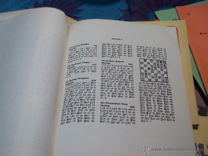 Coleccionismo deportivo: Ajedrez. Chess. Fifth Natwest Youngmaster. London 1988 DESCATALOGADO!!! - Foto 4 - 39553046