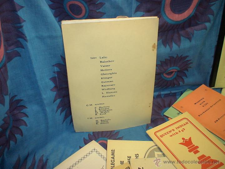 Coleccionismo deportivo: Ajedrez. Chess. Open Berlin 1988 DESCATALOGADO!!! - Foto 2 - 40661979