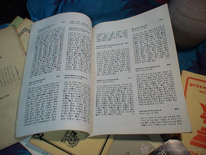 Coleccionismo deportivo: Ajedrez. Chess. Open Berlin 1988 DESCATALOGADO!!! - Foto 3 - 40661979