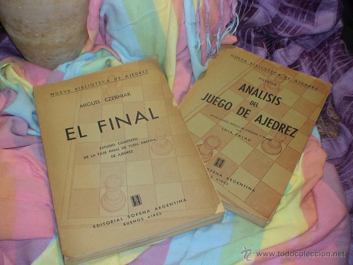 Coleccionismo deportivo: Ajedrez. Chess. El final - Miguel Czerniak DESCATALOGADO!!! - Foto 6 - 39684988