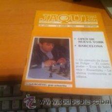 Coleccionismo deportivo: REVISTA DE AJEDREZ JAQUE Nº 271 15 OCTUBRE 1989 AÑO XIX. Lote 39718112