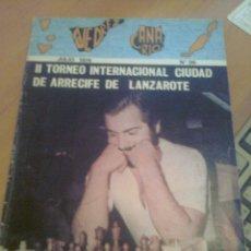 Coleccionismo deportivo: REVISTA AJEDREZ CANARIO Nº 36 JULIO 1974 DIFICIL. Lote 39734830