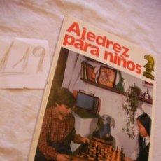 Coleccionismo deportivo: AJEDREZ PARA NIÑOS - UNICORNIO. Lote 39752438