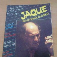 Coleccionismo deportivo: REVISTA DE AJEDREZ JAQUE Nº 306 15 MAYO 1991 AÑO XXI CHESS THAL. Lote 39788401