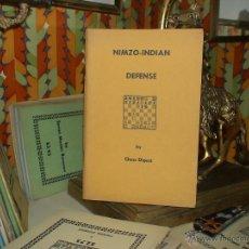 Coleccionismo deportivo: AJEDREZ. CHESS. NIMZO-INDIAN DEFENSE - CHESS DIGEST DESCATALOGADO!!!. Lote 40294101
