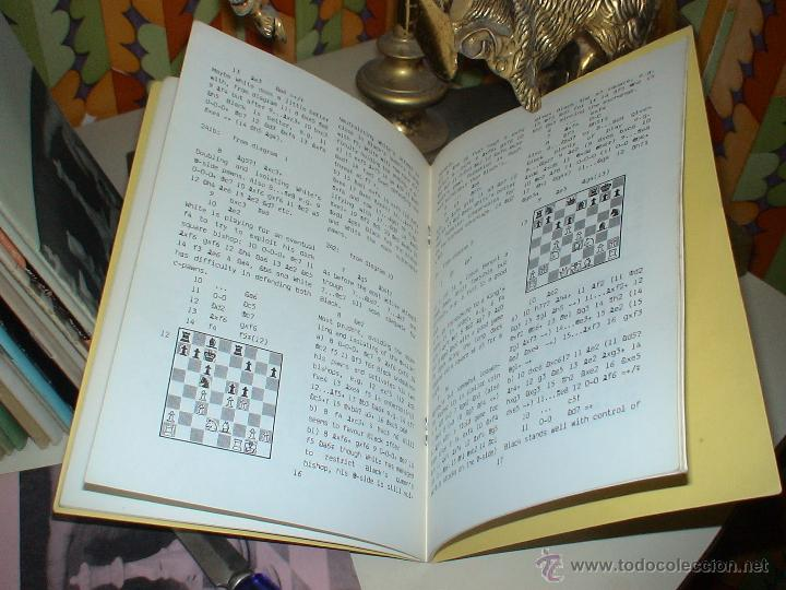 Coleccionismo deportivo: Ajedrez. Chess. The Old Indian Renewed - Len Pickett DESCATALOGADO!!! - Foto 3 - 195258932