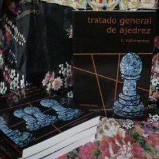 Coleccionismo deportivo: TRATADO GENERAL DE AJEDREZ I RUDIMENTOS - ROBERTO GRAU. Lote 147002145