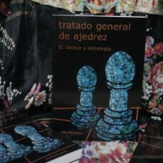 Coleccionismo deportivo: TRATADO GENERAL DE AJEDREZ II TÁCTICA Y ESTRATEGIA - ROBERTO GRAU DESCATALOGADO!!!. Lote 147002062