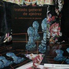 Coleccionismo deportivo: TRATADO GENERAL DE AJEDREZ III CONFORMACIONES DE PEONES - ROBERTO GRAU. Lote 128343327