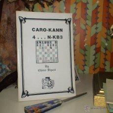 Coleccionismo deportivo: AJEDREZ. CHESS. CARO-KANN 4...N-KB3 - CHESS DIGEST DESCATALOGADO!!!. Lote 40448873
