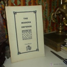 Coleccionismo deportivo: AJEDREZ. CHESS. THE MODERN DEFENSE - CHESS DIGEST. Lote 40469774