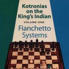Coleccionismo deportivo: AJEDREZ. CHESS. KOTRONIAS ON THE KING'S INDIAN - VOLUME 1 - VASSILIOS KOTRONIAS. Lote 40545095