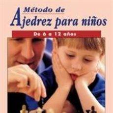 Coleccionismo deportivo: MÉTODO DE AJEDREZ PARA NIÑOS DE 6 A 12 AÑOS - ANTONIO GUDE. Lote 40684936