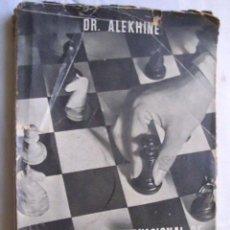 Coleccionismo deportivo - GRAN TORNEO INTERNACIONAL DE AJEDREZ. MADRID, OCTUBRE 1943. ALEKHINE Dr. - 40848241