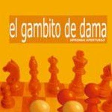 Coleccionismo deportivo: AJEDREZ. APRENDA APERTURAS. EL GAMBITO DE DAMA - NEIL MCDONALD. Lote 40860693