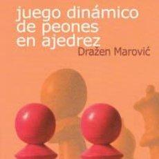 Coleccionismo deportivo: JUEGO DINÁMICO DE PEONES EN AJEDREZ - DRAZEN MAROVIC. Lote 40919700