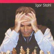 Coleccionismo deportivo: AJEDREZ. LAS MEJORES PARTIDAS DE GARI KASPAROV TOMO I - IGOR STOHL. Lote 40925225