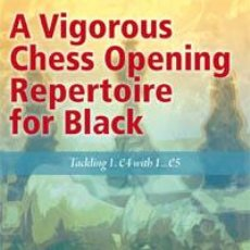 Coleccionismo deportivo: AJEDREZ. A VIGOROUS CHESS OPENING REPERTOIRE FOR BLACK - OR COHEN. Lote 40978439
