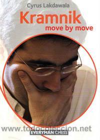 AJEDREZ. CHESS. KRAMNIK: MOVE BY MOVE - CYRUS LAKDAWALA (Coleccionismo Deportivo - Libros de Ajedrez)